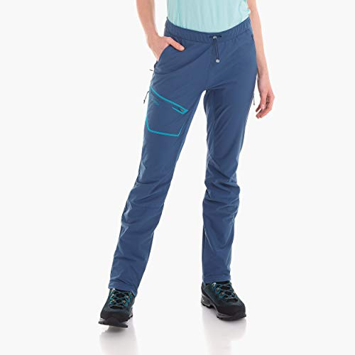 Schöffel Wallis Light Pantalon Femme, Blue Indigo, FR : M (Taille Fabricant : 38)