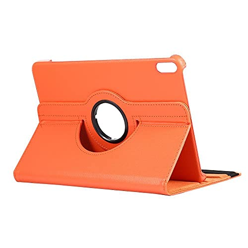 YYLKKB For Huawei MatePad 10.4 Case 2020 Lightweight Stand Skin Thin Tablet Cover for Huawei Matepad Pro 10.8 Case Mate pad 10.4 Shell-Orange_MatePad 10.4 2020