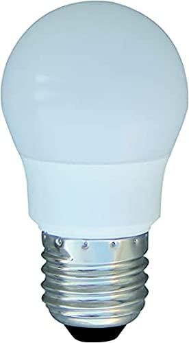 LAES 989151. Bombilla led esférica regulable 220-240V 6W 2700K E27. 450 Lumen. Equivalente a 40W. 75 X 45mm.