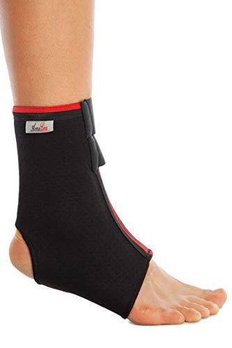 Tobillo apoyo Brace Pie tendón de Aquiles deportes guardia dolor de encaje hasta NHS fascitis Plantar para Reino Unido Estabilizador de lesiones esguinces artritis