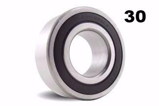 Thirty (30) MR115-2RS 5x11x4mm Precision Ball Bearings