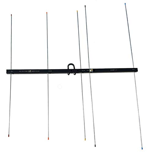 Delta2 Coms - Portable/Base All Purpose Two Meter Yagi Antenna - Made in USA