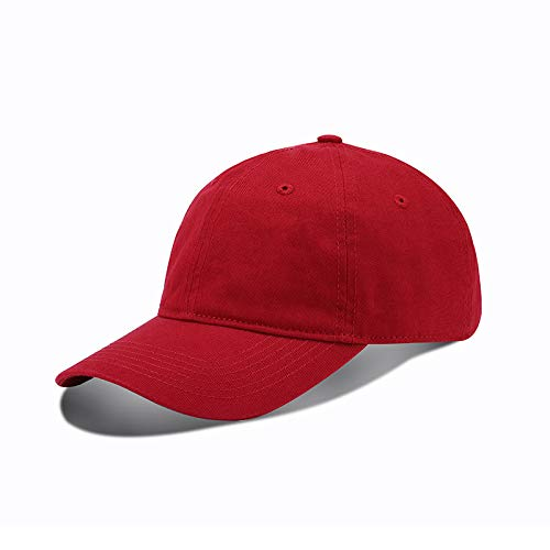Hats men and women Korean baseball caps tide spring youth outings leisure caps students pure color washed sun hats