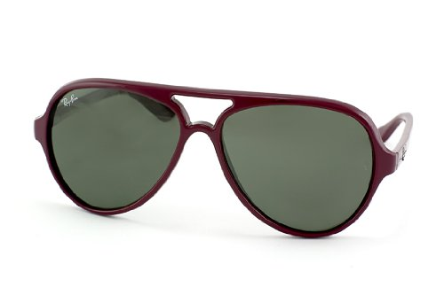 Ray-Ban Rb 4125 oscuro Rojo