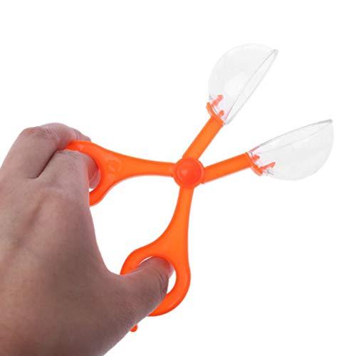 Cambano 2 Stück Kunststoff Bug Insektenfänger Schere Zange Pinzette Set für Kinder Kinder Spielzeug handlich