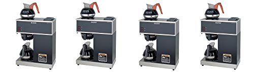 Great Deal! BUNN VPR-2EP 12-Cup Pourover Commercial Coffee Brewer Plus 2 Easy Pour Commercial Decant...