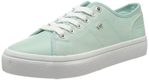 TOM TAILOR Damen 8095201 Sneaker, Grün (Mint 00259), 41 EU