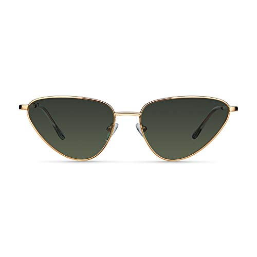Meller Leiza Collection - Gafas de sol polarizadas unisex UV400 minimalista Cateye
