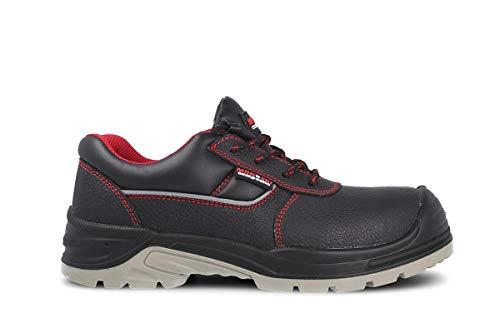 PAREDES Negro Zapato Óptimal, Seguridad, Protección, Cordón, Comodidad