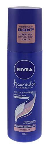 3 x Nivea Haarmilch Pflege-Sprühkur je 200 ml geschädigtes Haar Anti Haarbruch