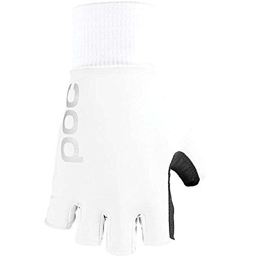 POC Sports Herren Aero TT Handschuhe Kinder, Hydrogen White, L