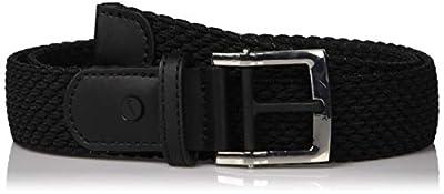 NIKE Women's Stretch Woven Belt, jet black, L