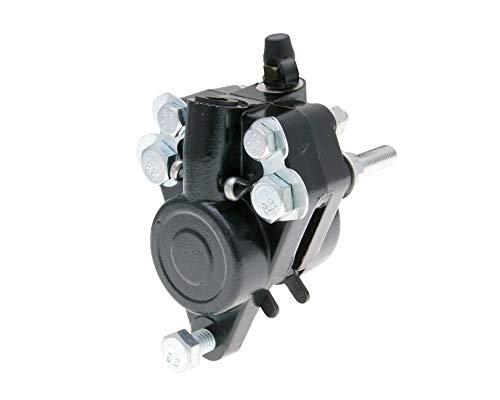 2EXTREME Grimeca Bremssattel, vorn, schwarz, kompatibel für Zündapp KS50, KS80 Scheibenbremse