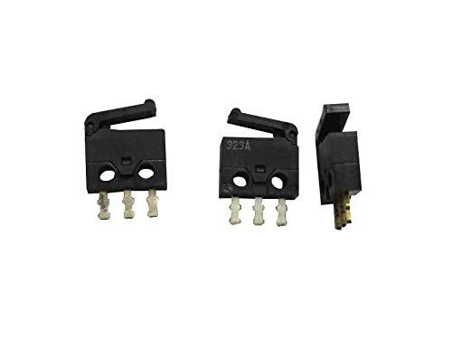 5 unidades Japan TXQ1-S10 Micro Detección Reset Camara Interruptor, Limitación de Golpe Micro-Motion Button, 3 pies recto con mango