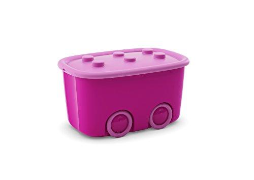 Kis Funny Box L - 58 X 38,5 X 32 cm, Rosa, 1 pezzo