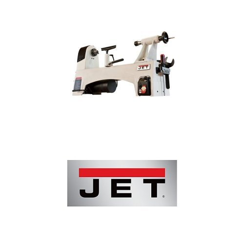 JET JWL-1221VS 12-Inch by 21-Inch Variable Speed Wood Lathe with JWL-1221VS Bed Extension