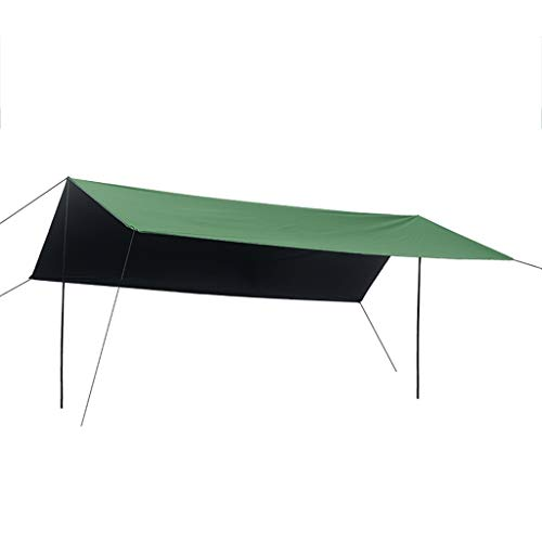 The Awning Is Easy To Carry And Multi-person Insulated Beach Shed Can Be Used For Pergola, Canopy, Carport, Beach Shed (Color : Green, Size : 3m×4.5m)