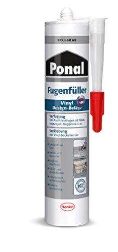 Ponal PV6HG Fügenfüller für Vinyl Design-Beläge, Hellgrau