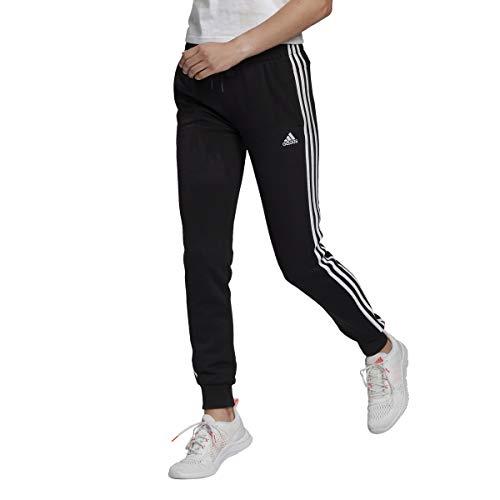 adidas W 3S FT C PT pants (1/1), black/white, XXS Womens