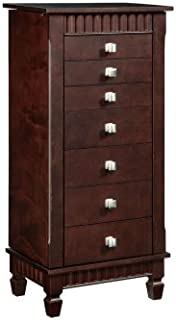 powell furniture merlot jewelry armoire