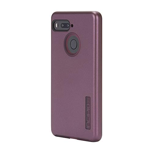 Essential Phone Case, Incipio Essential PH-1 Case DualPro Shockproof Hard Shell Hybrid Rugged Dual Layer Protective Outer Shell Shock and Impact Absorption Cover - Iridescent Merlot