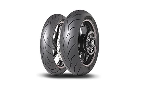Dunlop 22697 Neumático 180/55 ZR17 73W, Sportsmart Mk3 para Moto, Verano