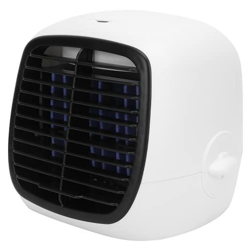 SHYEKYO Enfriador de Aire de Escritorio, bloquea el Polvo Fino en el Aire Ventilador de refrigeración por Agua Diseño de Tanque de Agua de 280 ml Utilizado de Forma Segura con Cable USB para
