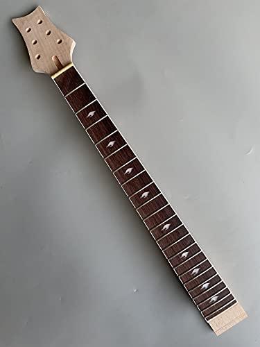 yinfente guitarra eléctrica Cuello de repuesto 22 trastes 24,75 (Kit de guitarra eléctrica para PRS