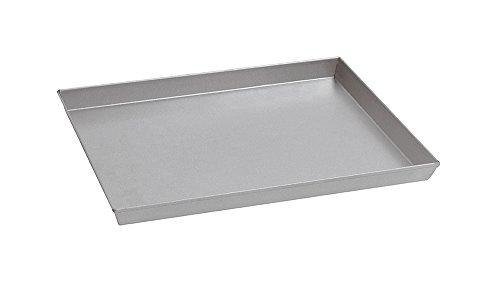 Paderno World Cuisine Backblech aus aluminiertem Stahl 15.75 x 11.88 x 1.13 Inch silber