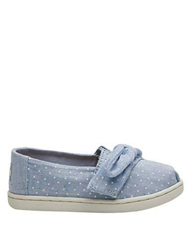 TOMS Unisex-Kinder Tiny Alpargata Espadrilles, Blau (Light Bliss Blue 000), 26 EU