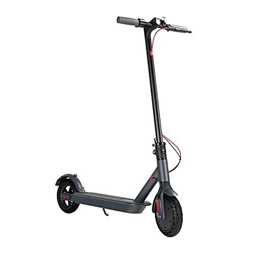 Boran Scooter Elettrico 350W Motore Pieghevole E-Scooter per Adulti e Adolescenti Velocità Max 25km/h 36V 10Ah Batteria, Doppio Freno, Alluminio Lega Scooter