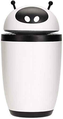 USB Mini luchtbevochtiger SAP facial verstuiver thuis aroma mute slaapkamer grote capaciteit verstuiver winter gift baby van dames indoor luchtbevochtiger auto bevochtiging gezicht watermeter, White d