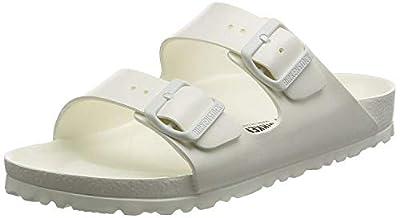 Birkenstock Unisex Arizona Essentials EVA White Sandals - 40 N EU