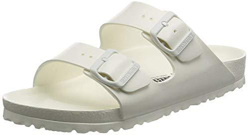 Birkenstock Unisex-Erwachsene Arizona EVA Pantoletten, Weiß (White 43), 38