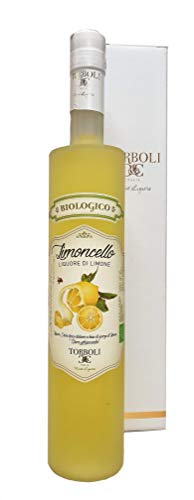 Torboli BIO Limoncello |Zitronenlikör | Lemon | biologischer Zitronenlikoer |Dessert |Italienische Spirituosen | 28% vol. | 500ml