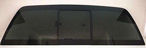 NAGD Sliding Back Window Glass Manual Back Slider Compatible with Toyota Tundra Pickup 2007-2021 Models