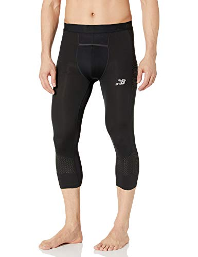 New Balance Men's Baseball Over The Knee 4040 Slider Tight, Team Black, M
