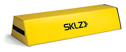 SKLZ Football Dummy for Tackling and Blocking, 10-inch Step-Over Dummy, Yellow