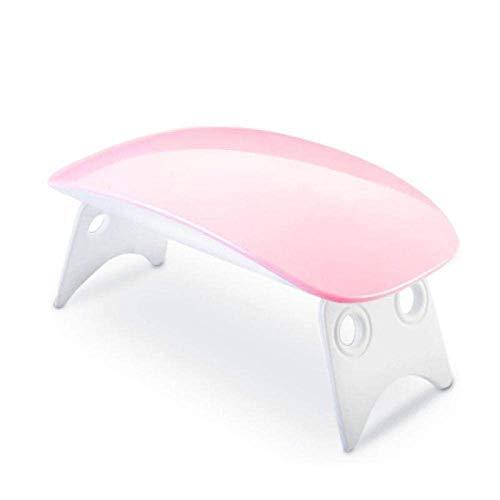 WOHAO Set Salon de manucure Gel Polissage Nail Art Mini Lampe UVLED Portable sèche Lampe 6WUSBLED