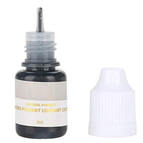 Encre de tatouage 18g, pigment microblading pour la ligne d'oeil de lèvres de sourcil(Noir (Eyeline))