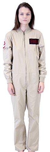 Ghostbusters Venkman Costume Jumpsuit (2X) Khaki