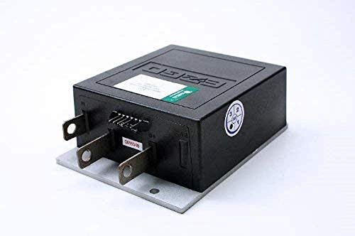 Golf Cart Speed Controller for E-Z-GO 25864G09, 36 36V Electronic Medalist & TXT Models 36-Volt 1206-4301, Upgraded 36 V 350 Amp, Series Controller, 1206 TXT Cars with 5 Pin, with 2 Year Warranty