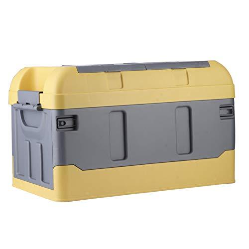 HighCover Dos compartimentos Práctico maletero Organizador duradero Práctico y confiable para organizar las cosas necesarias para viajes al aire libre y campamentos(yellow)