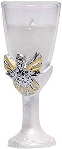 DISOK - Vela Elegant Angel - Velas y Detalles para Primera Comunión, Comuniones Originales Baratos