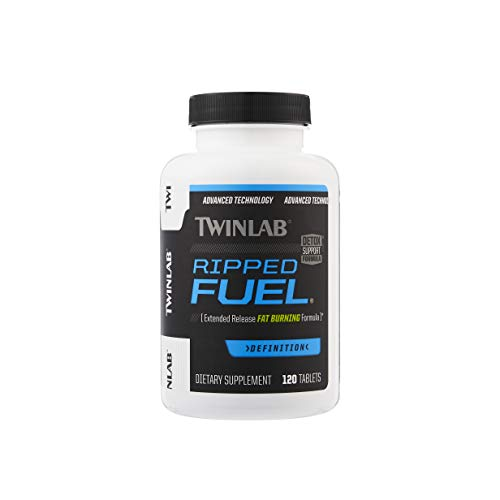 TWINLAB Ripped Fuel Weight Loss Tablets, 120 Count