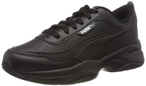 PUMA Cilia Mode, Zapatillas Mujer, Negro Black Silver, 40 EU