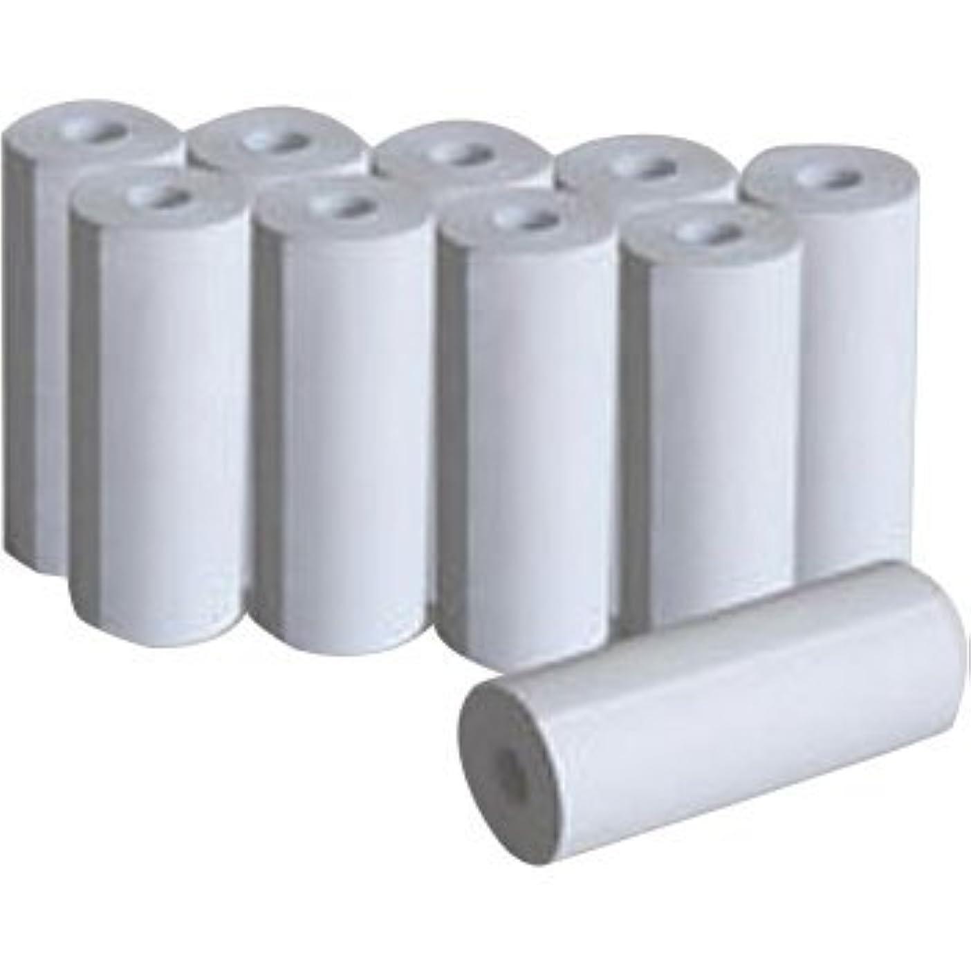 油おんどり最初にバッテリーテスターロール紙10本入り kaise カイセ SK-8530/8535/8550 プリンター用 感熱紙TA-14647