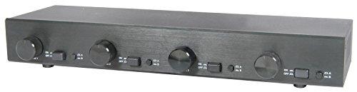 AV:Link | 2:4 Selector de Altavoces de gestión de Audio con Controles de Volumen