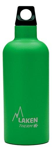 Bouteille isotherme Futura de Laken en acier inoxydable avec isolation sous vide et goulot étroit 500 ml Vert