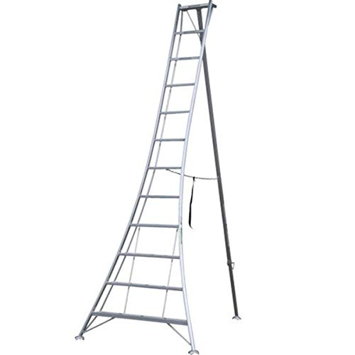 ALINCO オールアルミ製三脚脚立3.69m 11段 KWX360